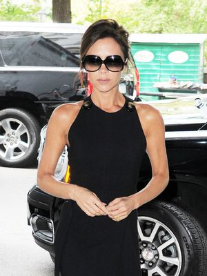 Victoria Beckham Shows Off Her Giant Engagement Ring on Vogue