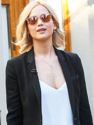 Jennifer Lawrence's Versatile Flats Are Perfect for Work