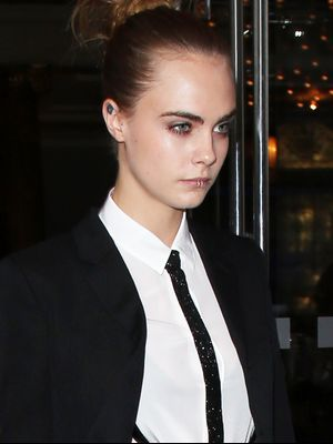 Cara Delevingne Is Officially Making the Lip Ring Cool Again