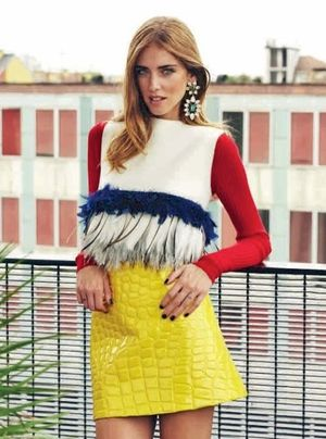 Blogger Chiara Ferragni Landed the Cover of Elle Netherlands