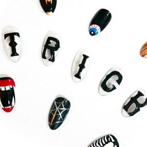 The Best Understated Halloween Nail Art