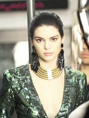 Go Behind the Scenes of Balmain x H&M's Sci-Fi Campaign Video