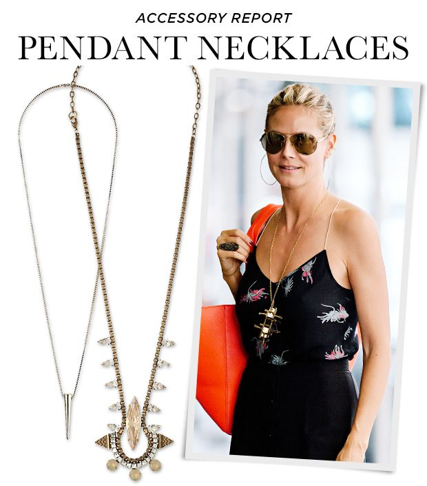 Pendant Necklaces You Can Wear With Anything--We Promise!