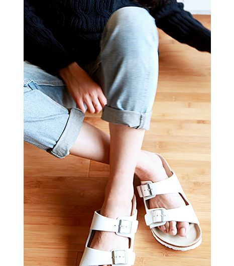 birkenstock arizona wearing