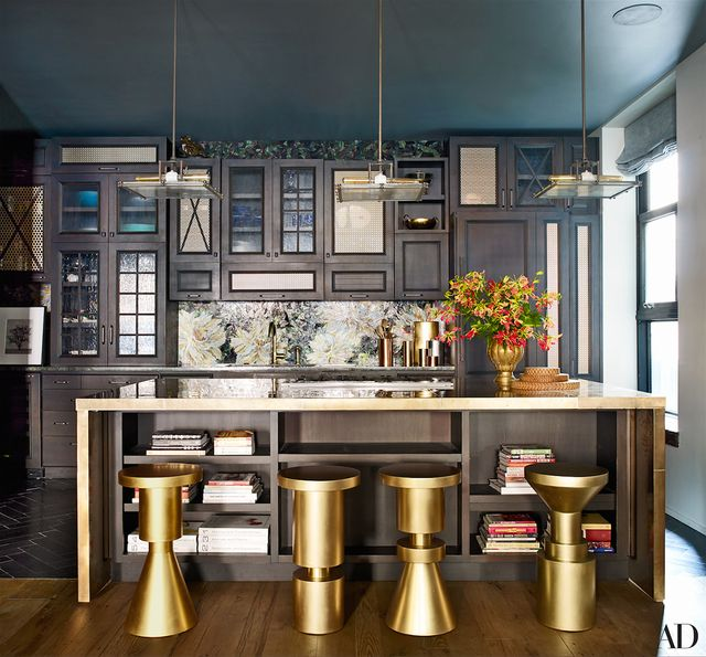Chrissy Teigen and John Legend really surprised us all with their love for dark and moody interiors. The star couple worked with Don Stewart, who also designed their Los Angeles home, to...