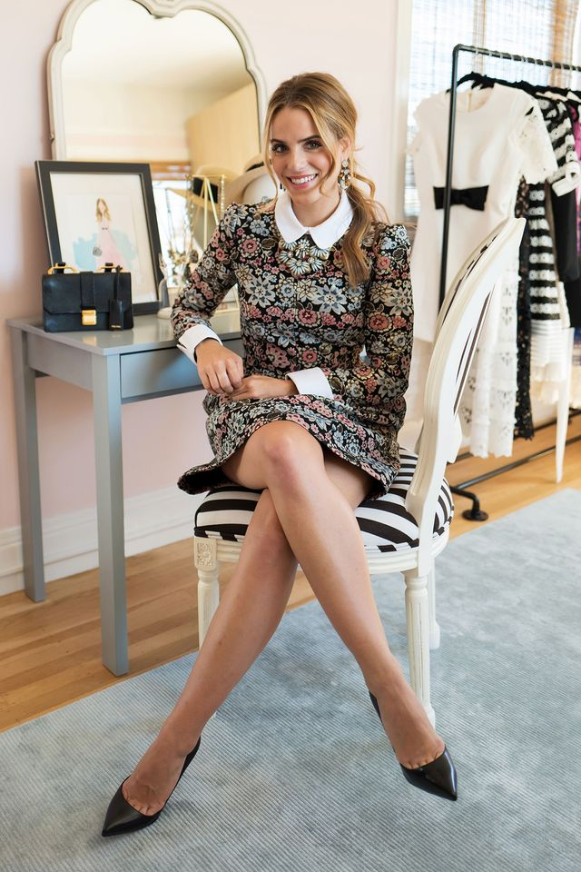 """Engel tells us she looked toward her own personal style for inspiration for this collection. """"My style is already so defined, so it was easy for me to narrow down the narrative and the look..."""