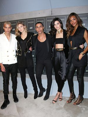 Balmain's Olivier Rousteing on the Importance of Diversity in Fashion