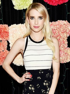 Under $100: Emma Roberts's Adorable Mixed-Prints Ensemble