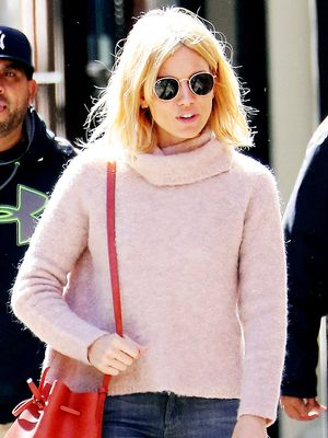 How Sienna Miller Makes Her Madewell Sweater Look Even Better