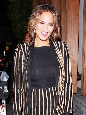 Chrissy Teigen's Maternity Look Is Seriously Next Level