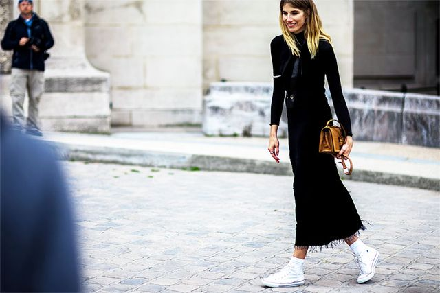 The Sneakers All the Parisian Girls Are Wearing