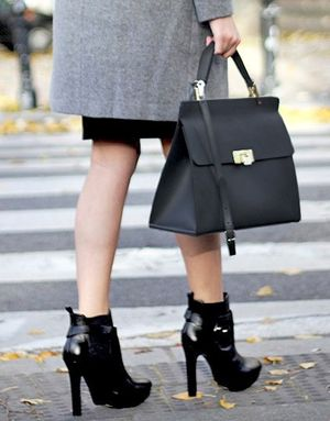 An Ultra-Chic Way to Wear Ankle Boots to the Office