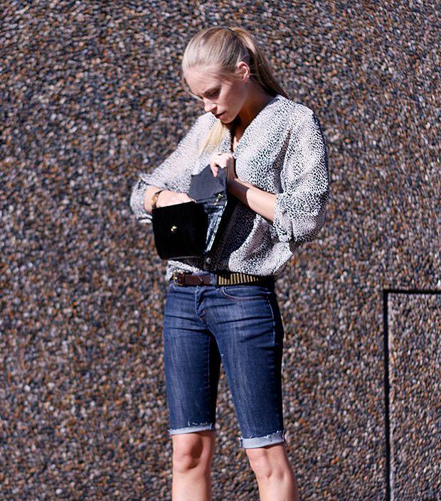 How do you style Bermuda shorts for work and play?