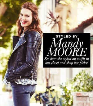 Mandy Moore Raids Our Closet--See The Results!