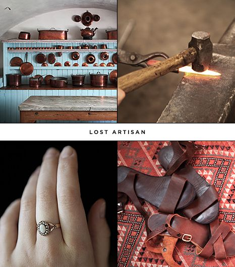 Blog: Lost Artisan     What: The name of this blog gives it all away! Founder Katie Kukulka investigates the lost arts, from the study of heirloom roses to Swedish tablescapes and...