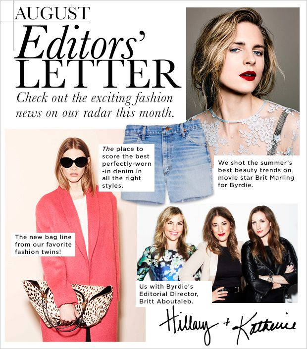 Editors' Letter: The Fashion News On Our Radar
