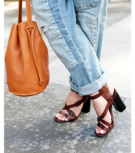 Since overalls are generally looser fitting—and should be, unless you're going for a roller disco look, which you're not—heels are key for creating an outfit that is smart,...