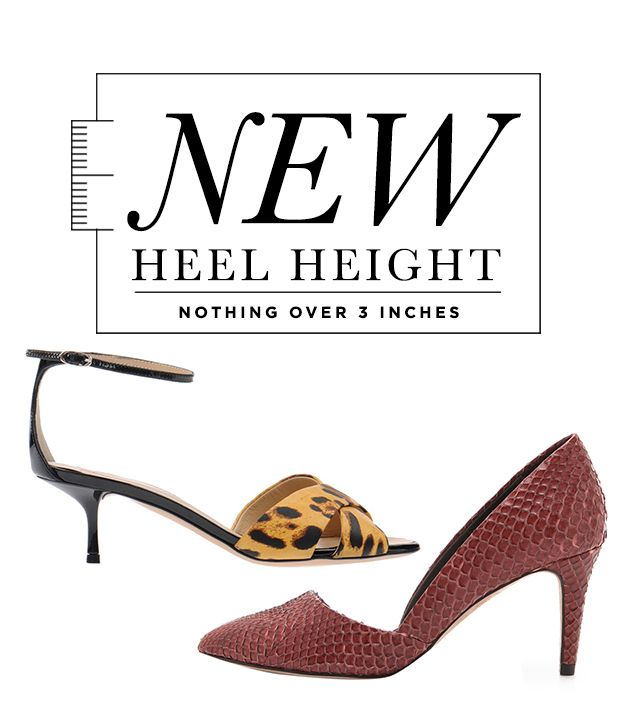 20 Cute Heels Under 3 Inches: Shop 'Em All!