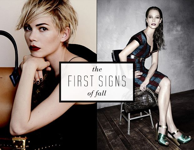 The Best Beauty in Fall's Fashion Ads