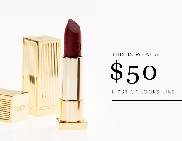 Poppy King's New Velvet Rope Lipstick