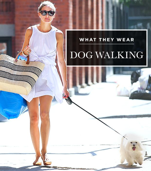 Dog Days: What Celebs Wear While Walking Their Pups