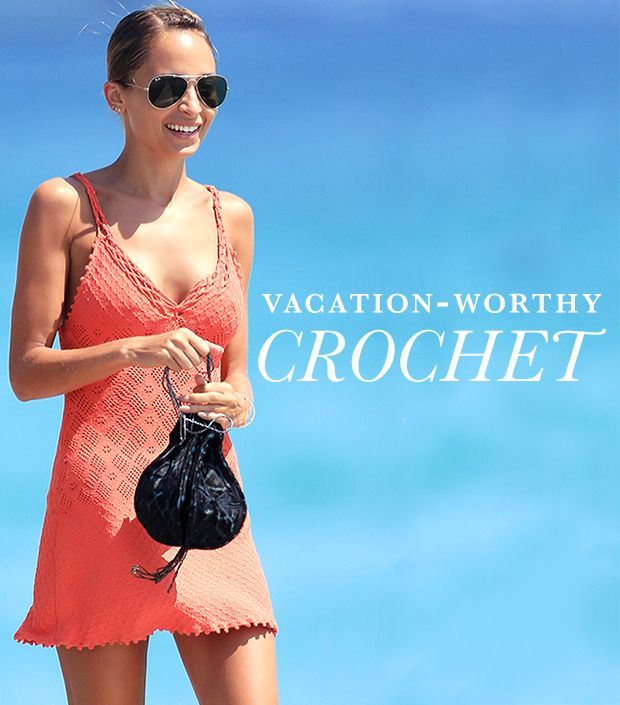 14 Crochet Pieces For Your End-Of-Summer Vacation