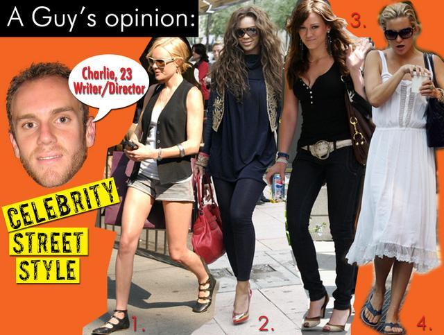 Celebrity Street Style/June