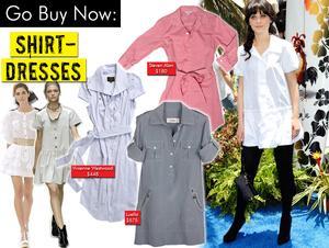 Shirt-dresses