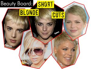 Short Blonde Cuts