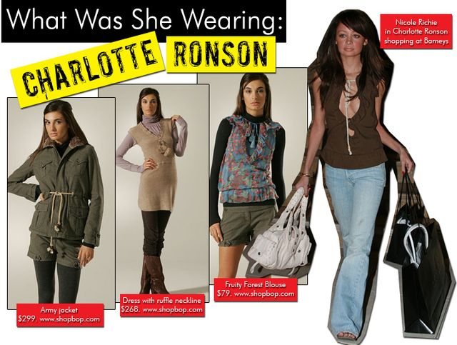 Online Buys/Charlotte Ronson