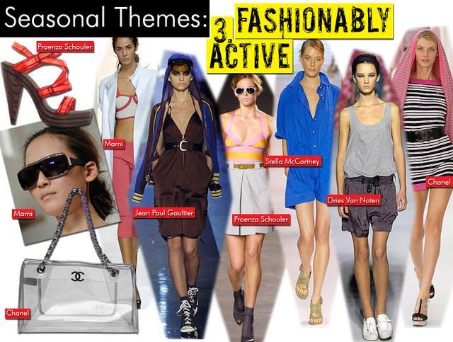 3. Fashionably Active