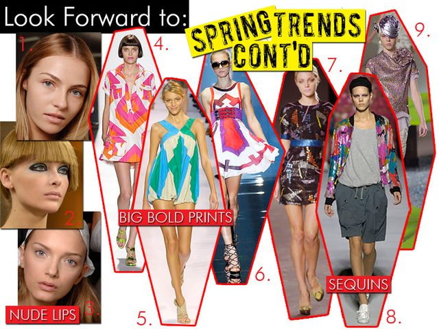 Spring Trends Cont'd