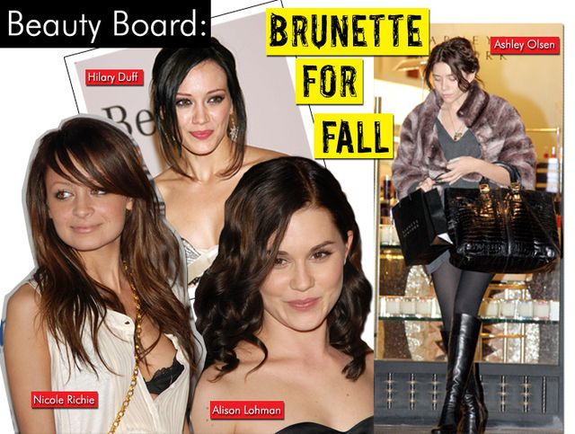 Brunette For Fall