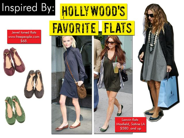 Hollywood's Favorite Flats