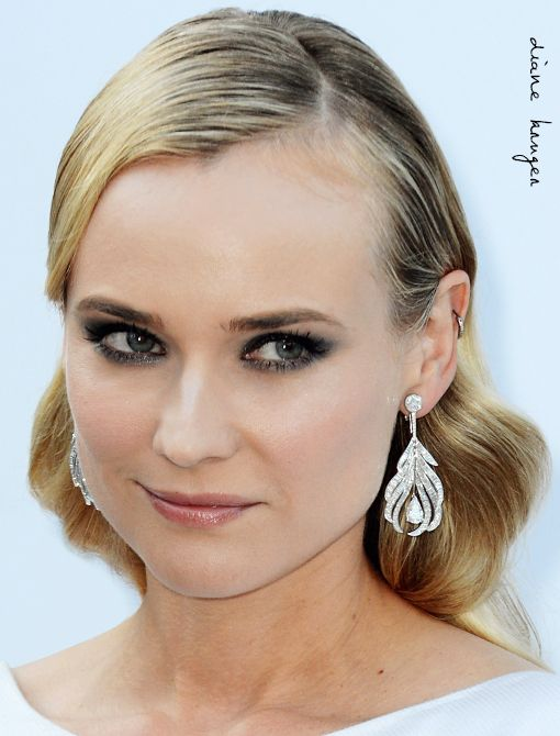 Wearing: Chanel Fine Jewelry Plume Earrings in 18-Karat White Gold and DiamondsImage courtesy of Getty Images