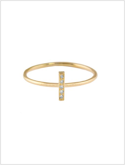 Diamond Bar Ring ($450)There's a reason celeb favorite Jennifer Meyer was runner-up at the 2012 CFDA Awards: her designs are endlessly chic. From the delicate letter necklaces to the stackable...