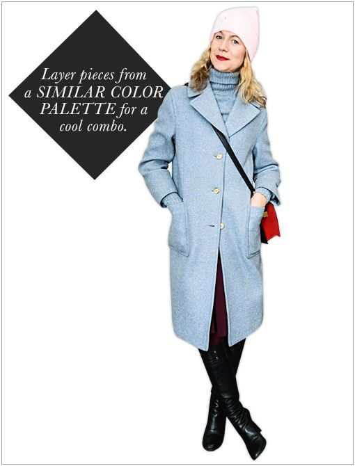 Get The Look: Topshop Swing Coat ($150)  Image courtesy of Billy Farrell Agency