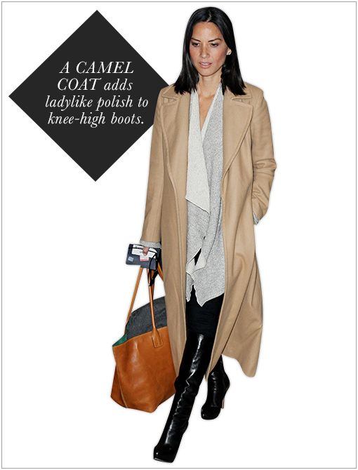 Get The Look: Joseph Man Wool and Cashmere-Blend Coat ($995)  Image courtesy of Splash News