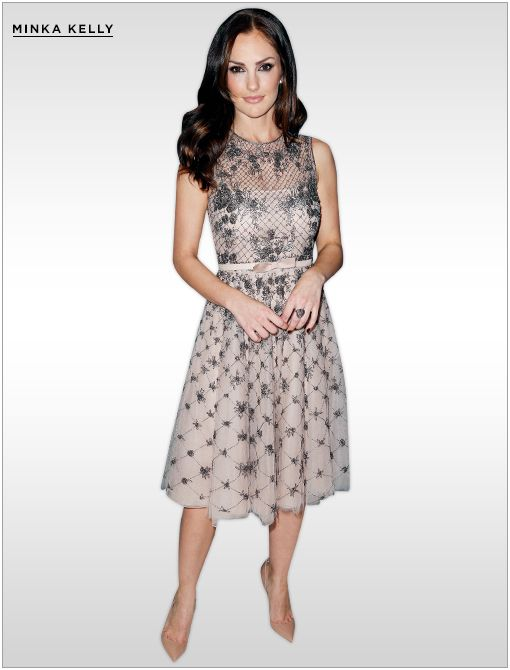 Get The Look:Valentino Lace and Silk-Organza Dress ($3290)Image courtesy of Getty Images