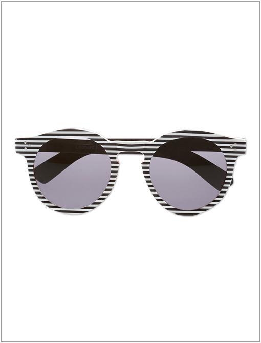 Leonard Round-Frame Acetate Sunglasses ($260)