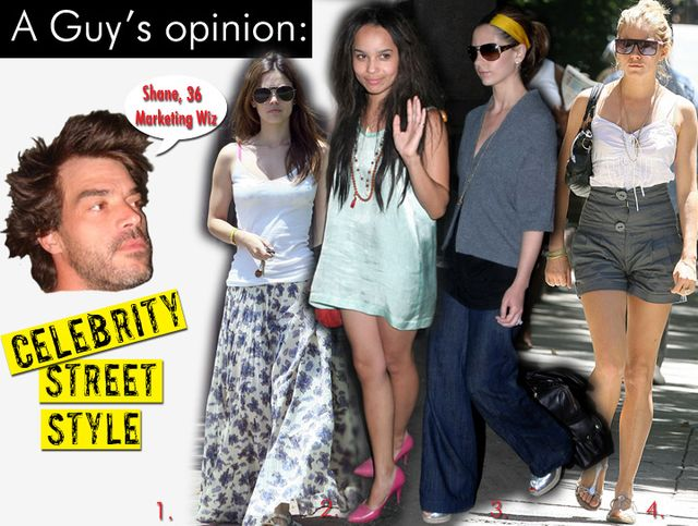 Celebrity Street Style/July