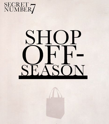 Shop Off-Season