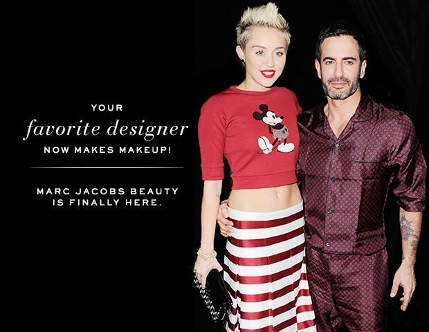 Marc Jacobs Talks Beauty