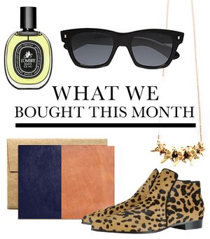 See What Your WWW Editors Bought This Month