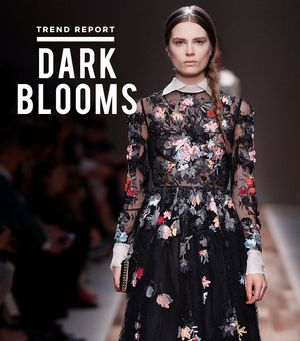 Floral Prints Get A Moody Makeover Just In Time For Fall