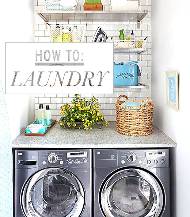 Are You Doing Laundry Right? We've Got The Do's And Don'ts!