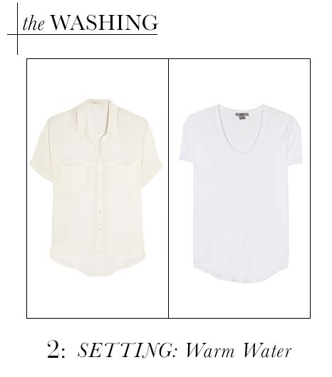 Washing: Warm Water