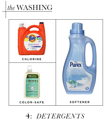 Washing: Detergents
