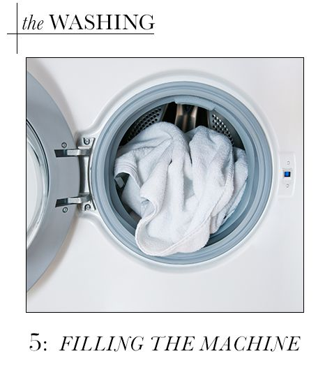 Washing: Fill The Machine