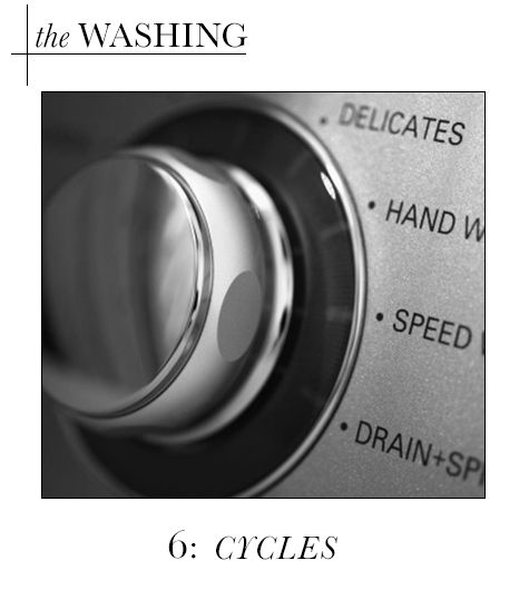 Washing: Cycles